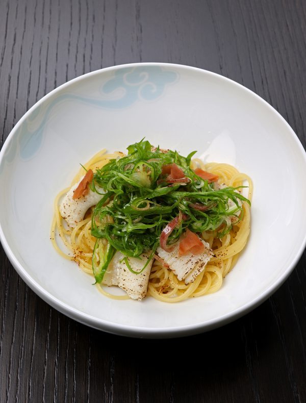 Truffle and Japanese Butterbur-Miso Pasta