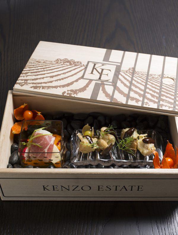 祗園店限定 今月の木箱前菜 ¥2,400