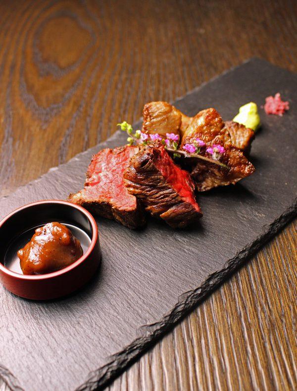 京都牛フィレ肉のサルタート 3種のコンディメント ¥5,400