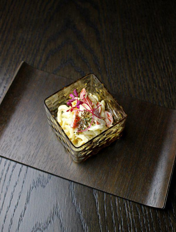 温かいマカロニサラダ ¥950