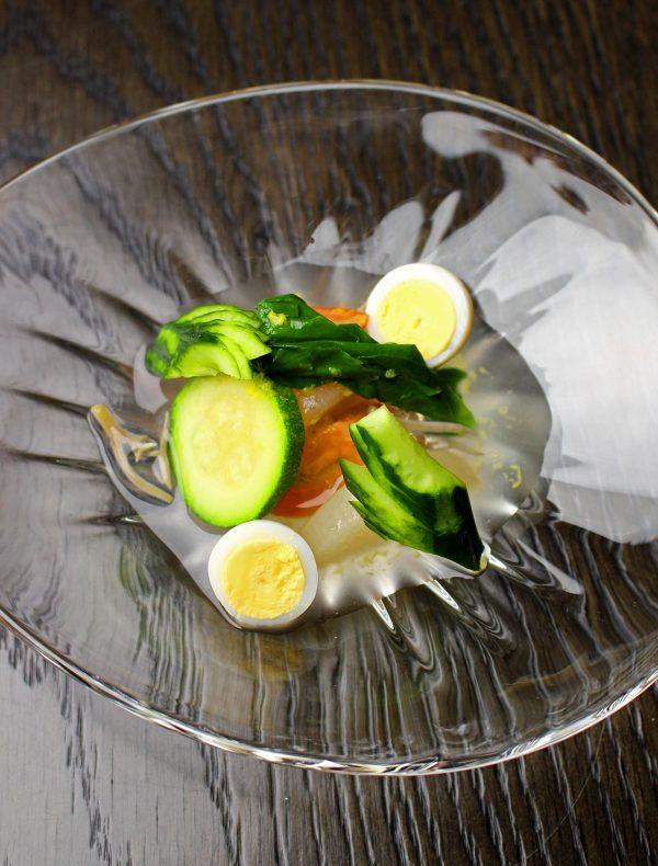 """京野菜の""""夏のおでん"""" 1,200"""