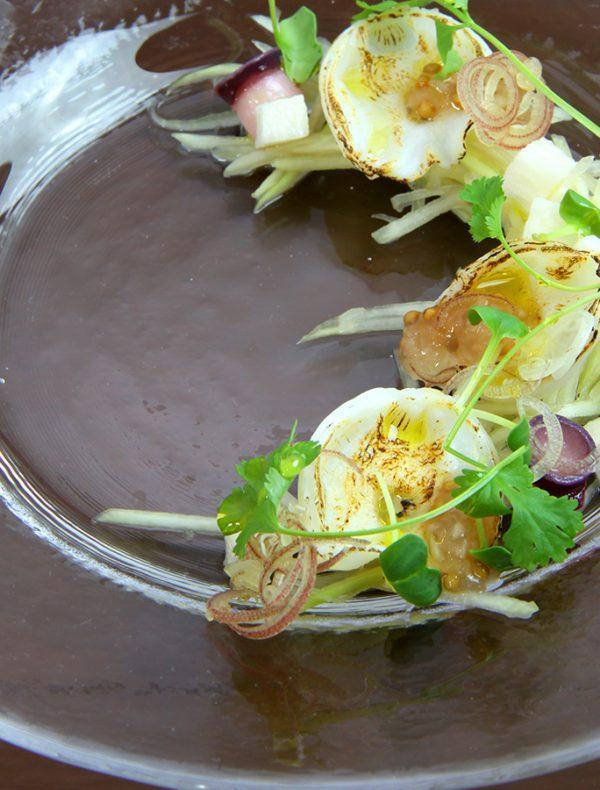 水蛸 吸盤 青パパイヤ 長芋 茗荷 香菜 ¥1,200