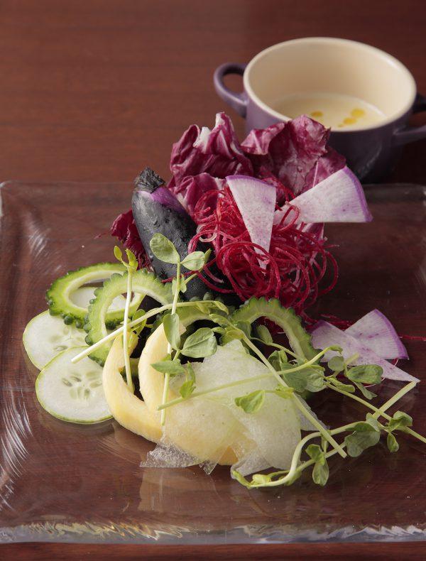 季節の野菜 バーニャカウダ ¥1,500