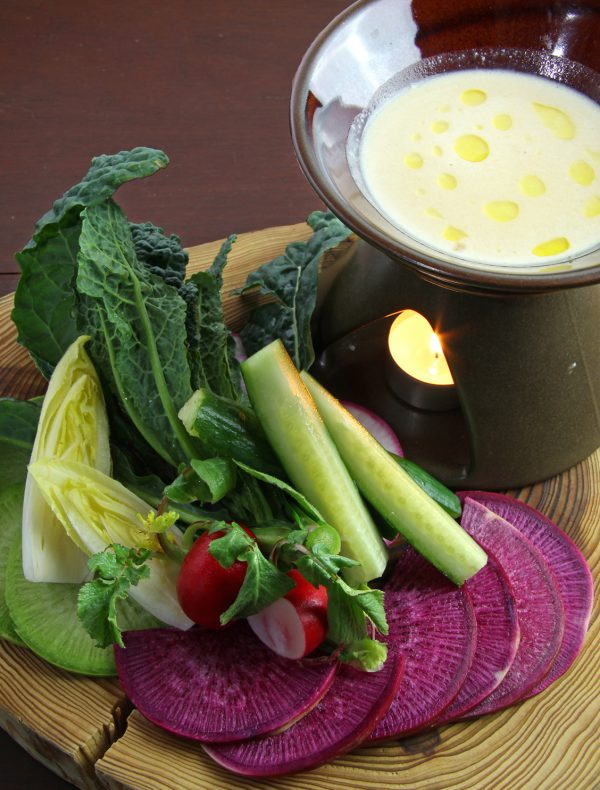 Seasonal Vegetable Sticks with Bagna Cauda  ¥1,500