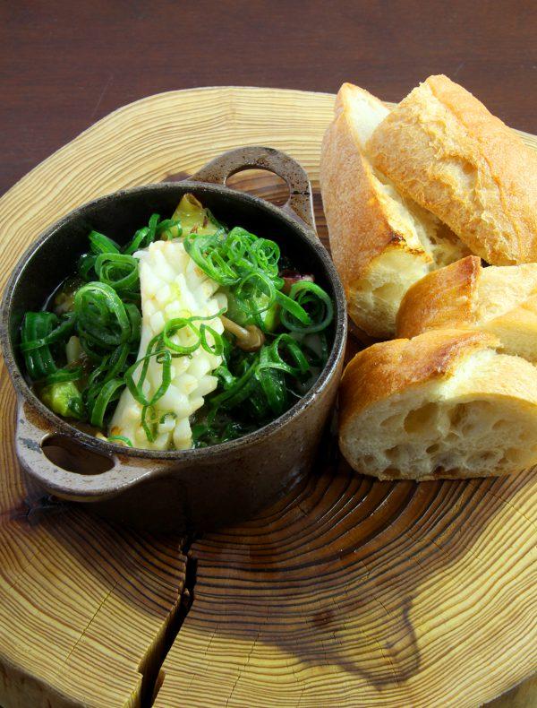 Shrimps and Kabocha Squash al Ajillo ¥1,500