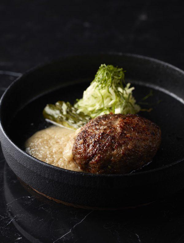 鉄板牛ハンバーグ(和風) ¥2,200