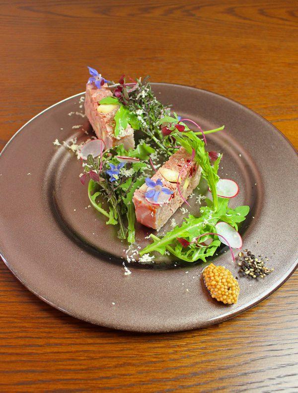 豚肉と栗、胡桃のパテ ¥1,650