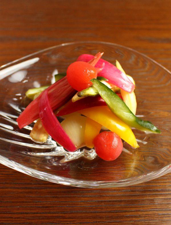 彩り野菜のピクルス ¥900