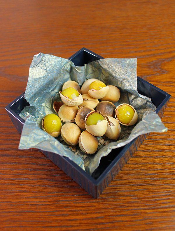 塩煎り銀杏 ¥1,200