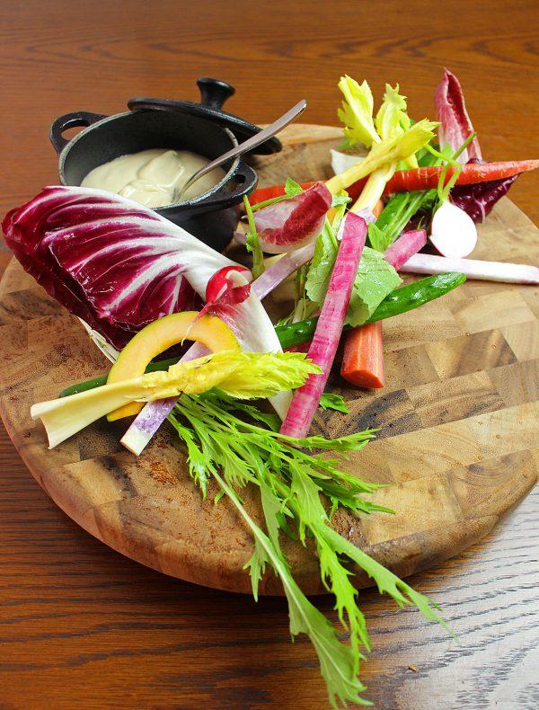 彩り地野菜のバーニャカウダ ¥1,700