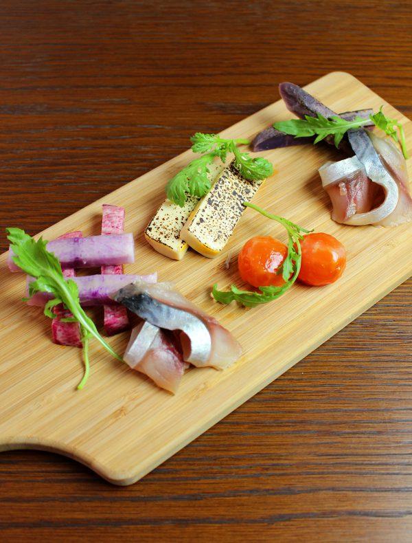 味噌漬け前菜5種盛り合わせ ¥1,400