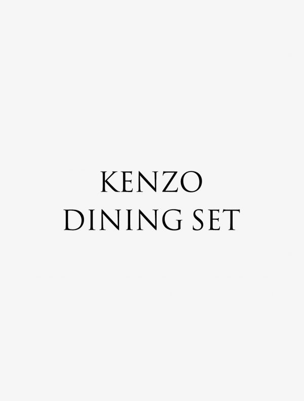 KENZO ダイニングセット ¥4,000(¥4,320税込)