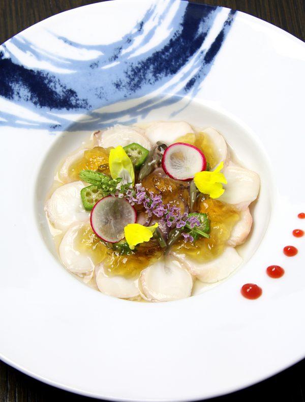 北海道産 蛸の梅肉ジュレがけ ¥1,500