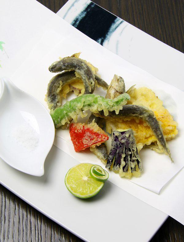 小鮎の天麩羅 ¥2,500