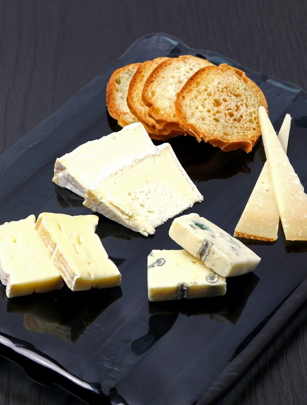 Selection of Four kinds of Cheeses