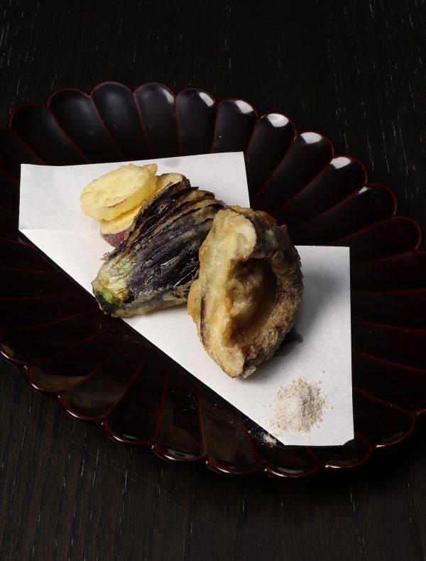 加賀野菜天麩羅