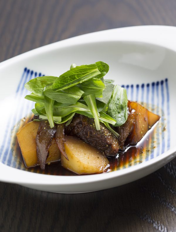 Braised Wagyu Beef and Potatoes ¥2,000