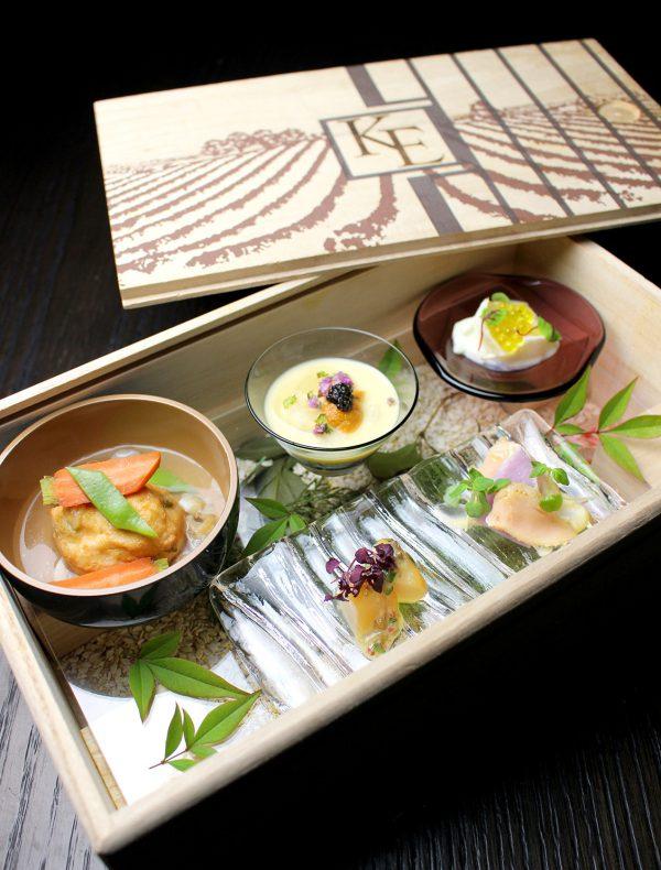 ワイナリー木箱に詰めた前菜盛り合わせ  ¥2,800