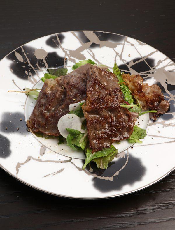 Homemade Smoked Salmon Tartar with Egg Yolk Vinegar ¥2,800